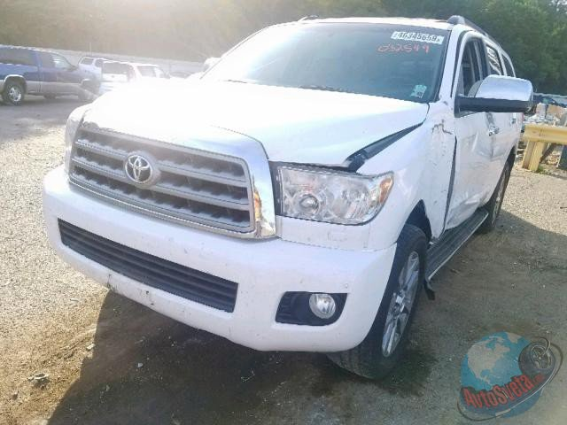 TOYOTA SEQUOIA LIMITED, 2011